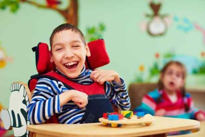 Boy Suffering from Cerebral Palsy Still Finds Joy